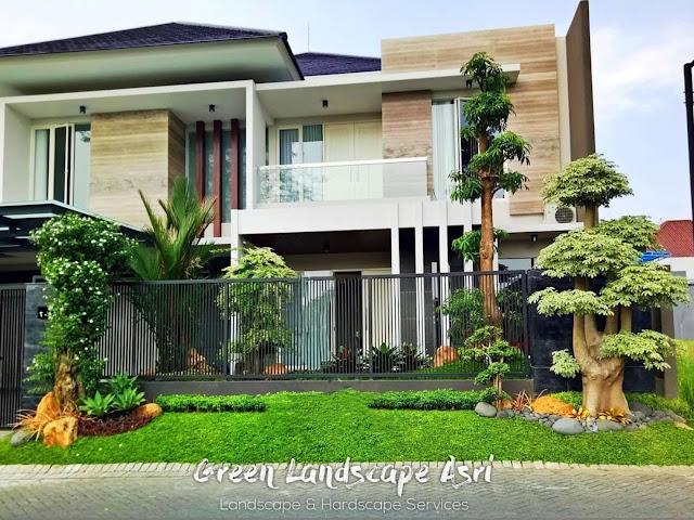 Jasa Pembuatan Taman Rumah Surabaya Terbaik dan Bergaransi