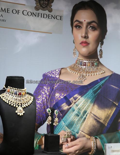 Royal Navaratan Set by Kalasha Fine Jewels