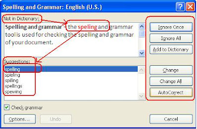 Spelling and Grammer