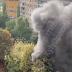 В Солом'янському районі масштабна пожежа охопила гаражі