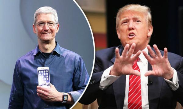 رغم انتقاده لـ آبل.. ترامب يتخلى عن هاتف أندرويد من أجل الآيفون!