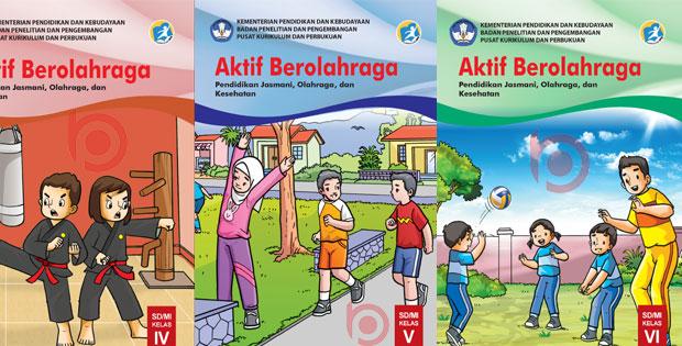 Buku PJOK SD/MI Kurikulum 2013 Revisi Terbaru 2019