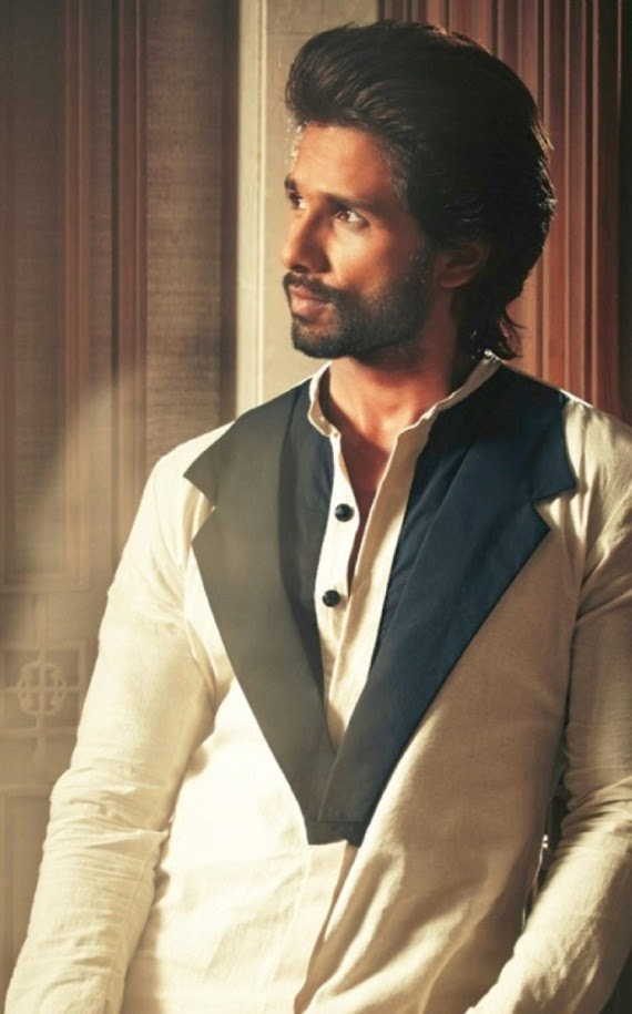 Shahid Kapoor's New Look and Hairstyle | Fashion