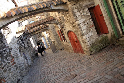 Saint Catherine Passage in Tallinn