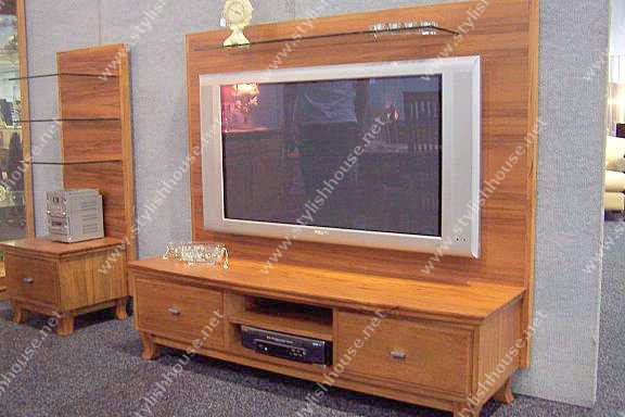 stylish Wooden plasma TV cabinet design