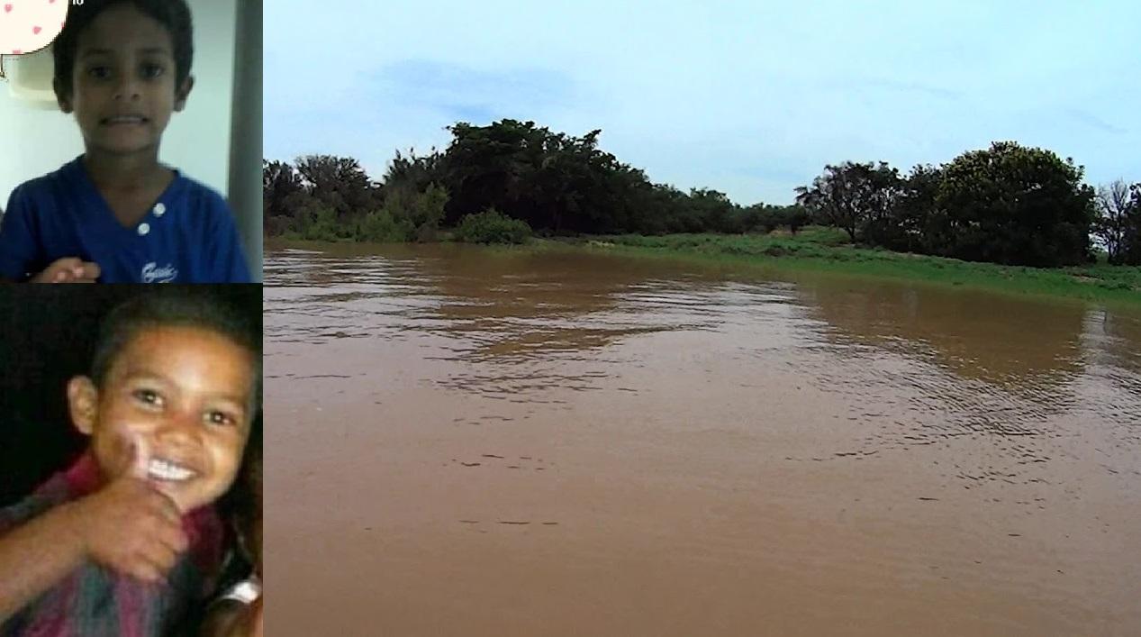 Tristeza: duas crianças morrem afogadas no rio São Francisco em Xique-Xique