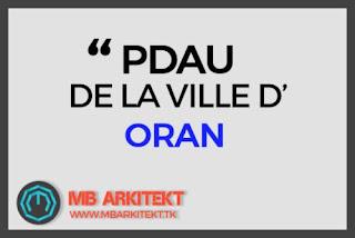 PDAU DE LA VILLE D'ORAN