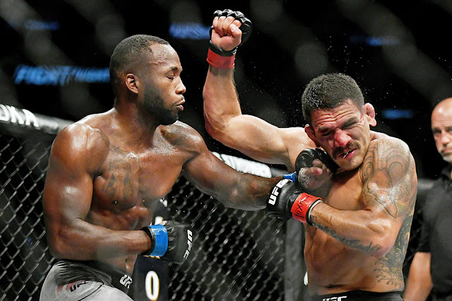 Leon Edwards defeated Rafael dos Anjos UFC San Antonio