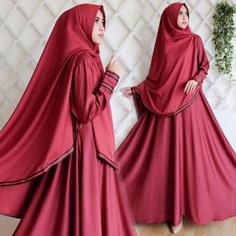 Model Kebaya Modern Terbaru Wanita Muslimah Berjilbab