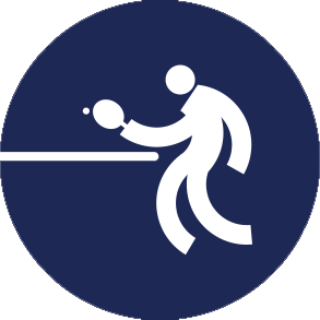 Icon Logo Tenis Meja Asian Games 2018