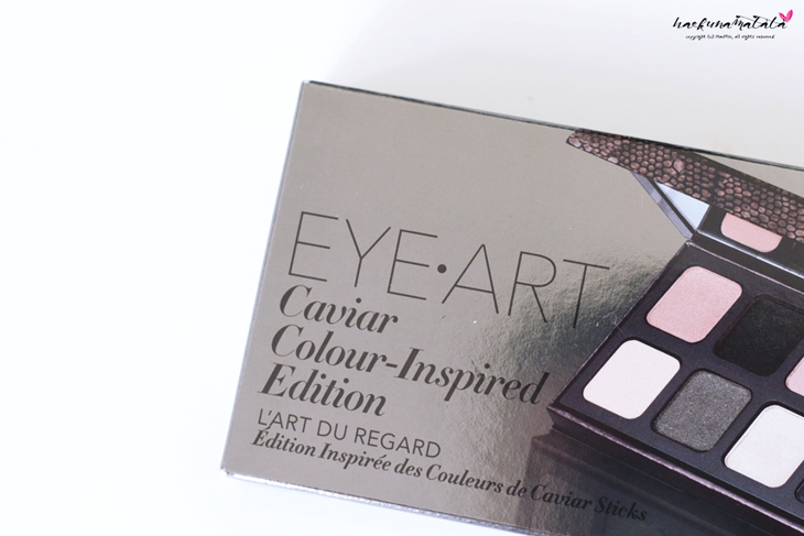 Laura Mercier Eye Art Caviar Colour-Inspired Edition - Eyeshadow Palette Review, Swatches, MOTD
