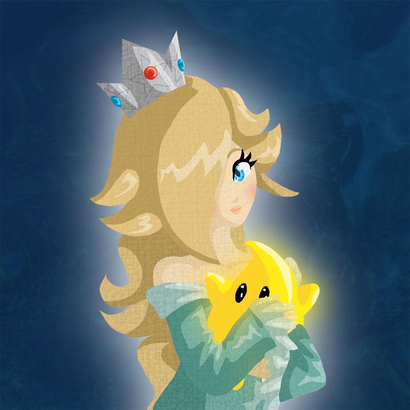 quot Princess Rosalina quot Super Mario Galaxy Games Wallpaper