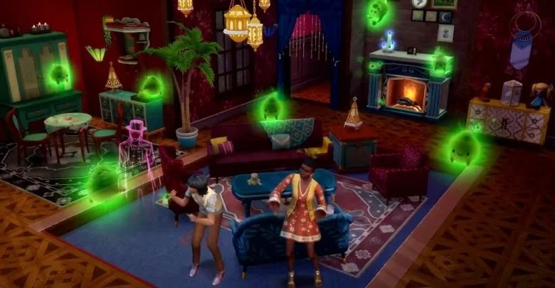 How to create a haunted house in The Sims 4: Paranormal Phenomena