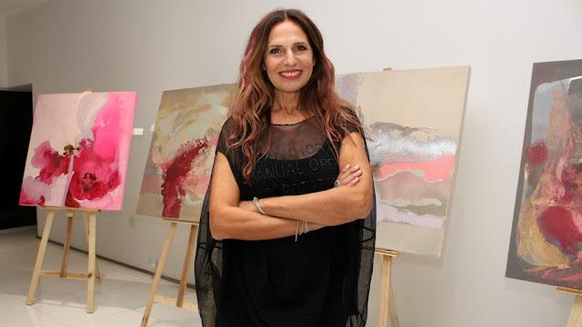 Ginette Reynal presentó #Etérea en el Espacio Ferrari del Patio Bullrich