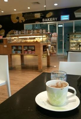 ルーティーンの喫茶店