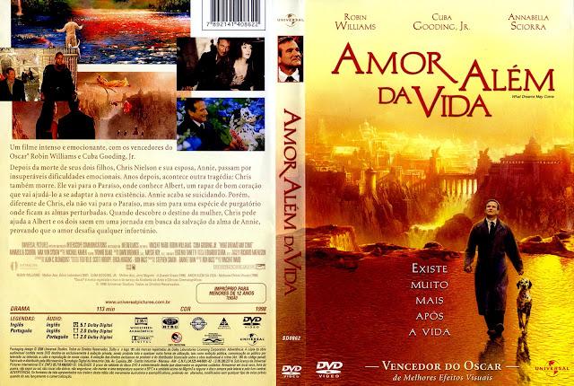 Capa DVD Amor Além da Vida