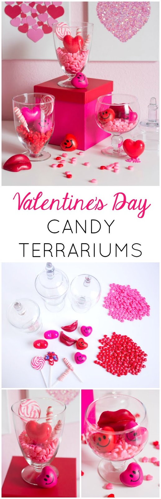 Valentine S Day Candy Terrariums Design Improvised