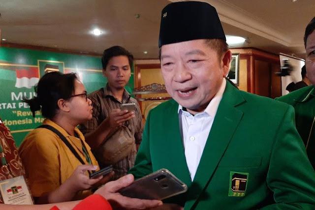 PPP Pasrahkan Posisi Menteri Untuk Partainya Kepada Presiden Joko Widodo
