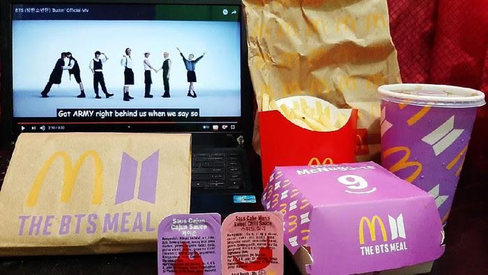 BTS Effect : BTS Meal Meledak Demi Idola