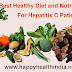 Best Healthy Diet and Nutrition Tips for Hepatitis C Patients