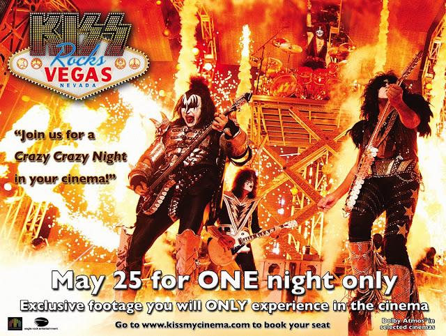 Kiss Rocks Vegas ad