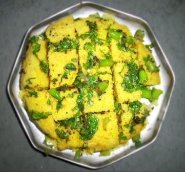 Gujarati Cuisine -- dhokla