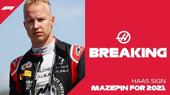 Mazepin pierwszym kierowcą zespołu Haas