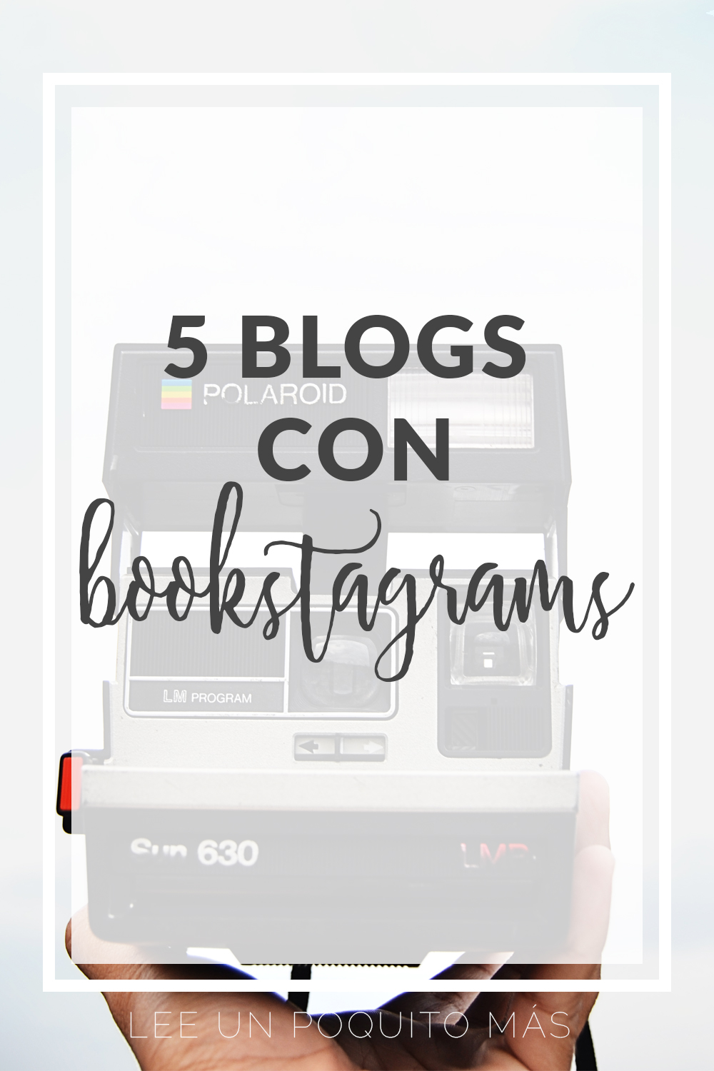 5 blogs literarios con hermosos Bookstagrams