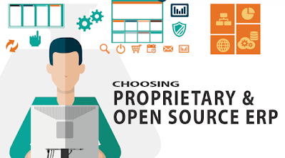 Choosing between the Proprietary ERP and the Open Source ERP