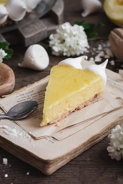 Part de tarte au citron de Menton de Jérôme de Oliveira