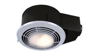 Broan Exhaust Fan, Heater, and Light Combo
