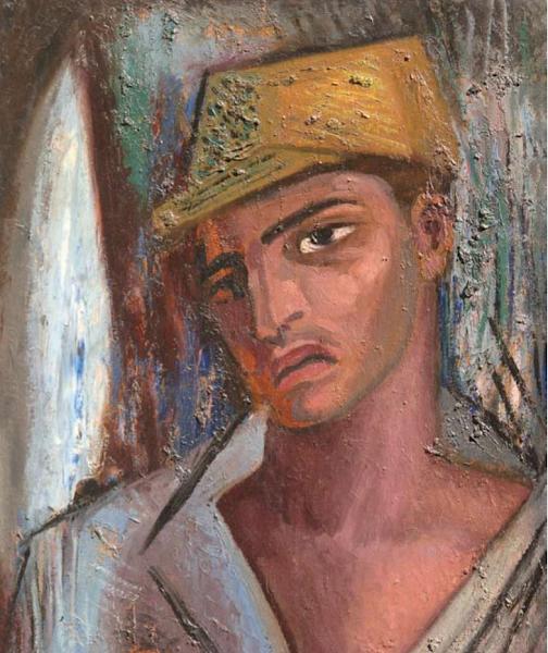 Retrato, Jaime Colson, 1963