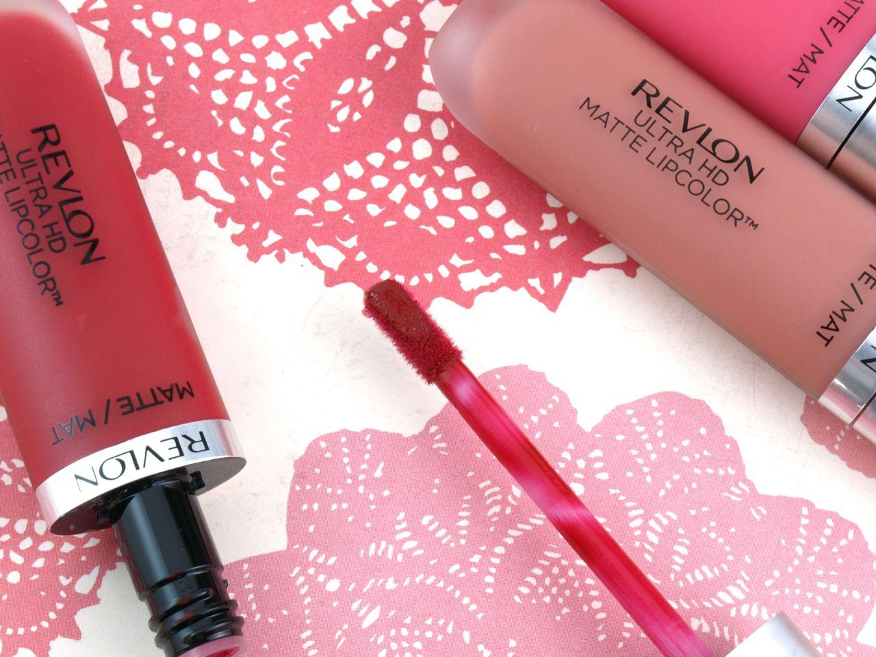 Revlon Ultra Hd Matte Lipcolor Seduction