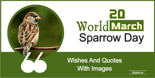 World Sparrow Day Quotes  In Hindi