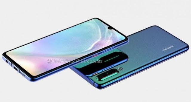Huawei P30 Dengan Kamera 40 MP, Segera Rilis Akhir Maret 2019