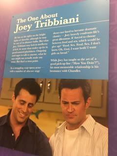 Joey Tribbiani Information Friends Pop Up Experience
