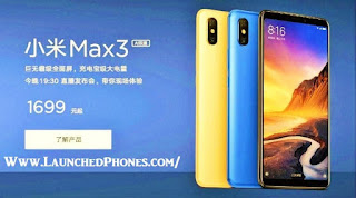 This is the latest Xiaomi Mi Max serial Xiaomi Mi Max3 Specifications together with curt review