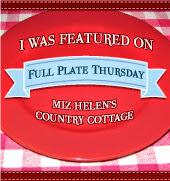 Full Plate Thursday,489 at Miz Helen's Country Cottage
