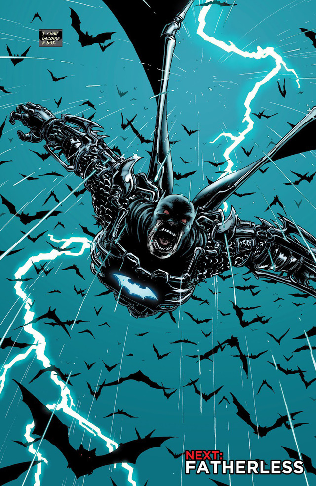 Suit of Sorrows upgraded by Batman