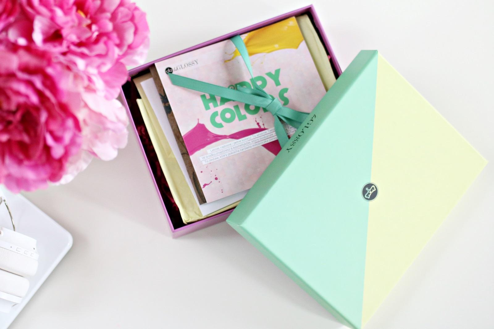 beGlossy Happy Colors {przegląd pudełka lipiec 2017}