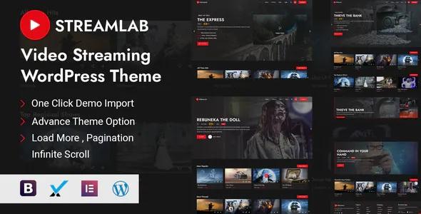 Best Video Streaming WordPress Theme