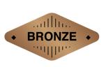 Logo Peringkat Bronze Vtube