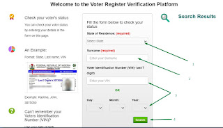 INEC Registration For Nigeria Permanent Voter's Card and How To Confirm If You Can Vote 4