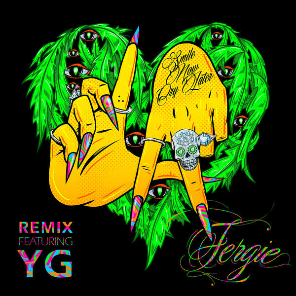 Fergie - L.A.LOVE (la la) [Remix] [feat. YG] - Single Cover