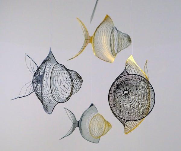 Fish%2BMetal%2BSculpture