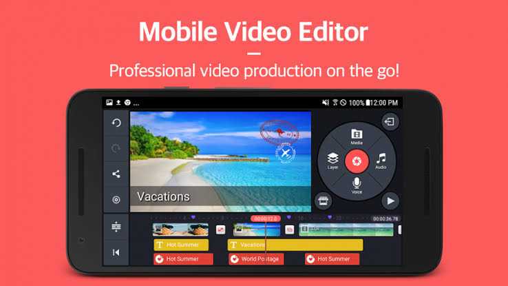 KineMaster - Best Video Editing Apps for Android 2020