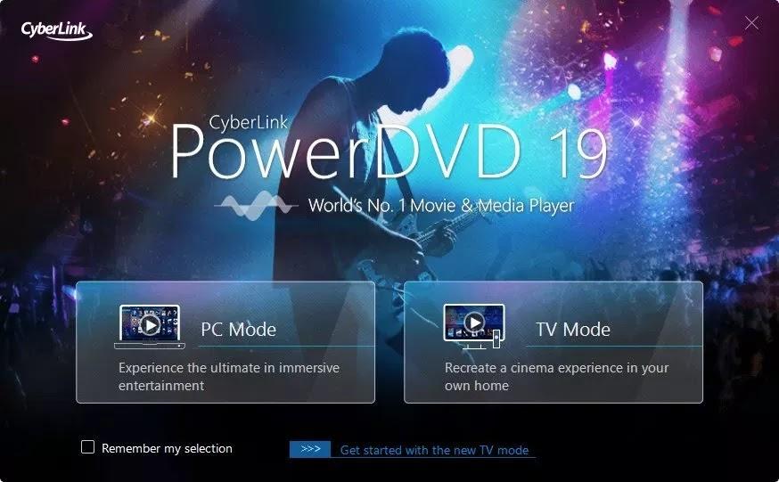 عملاق تشغيل اسطوانات بأي نوع | CyberLink PowerDVD Ultra 19.0.1511.62