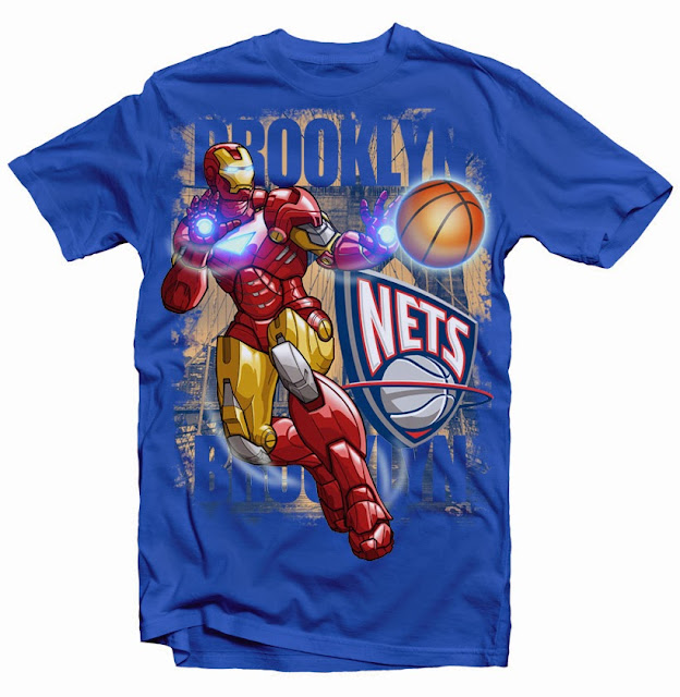 brooklyn nets tshirt design