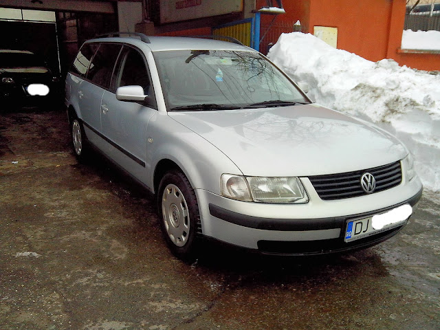 VW Passat 1,9 TDI inscris Ro