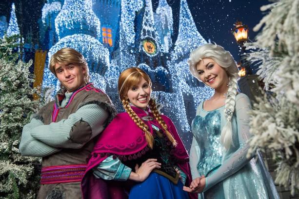 Onde encontrar as princesas Anna e Elsa nos parques da Disney